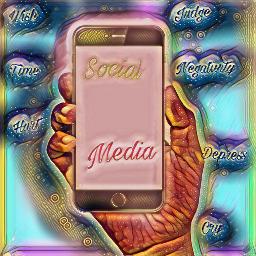freetoedit media socialanxiety phone negitive
