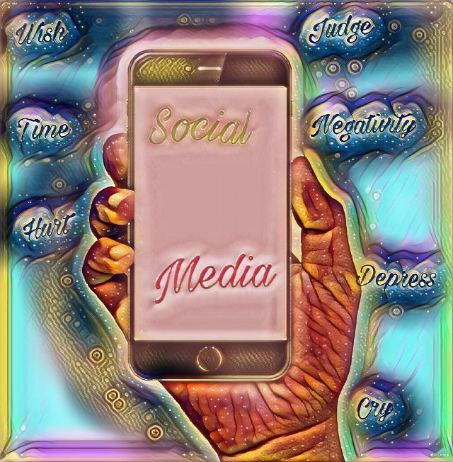 #FreeToEdit #media #socialanxiety #phone #negitive