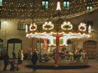 christmas carousel nightlights