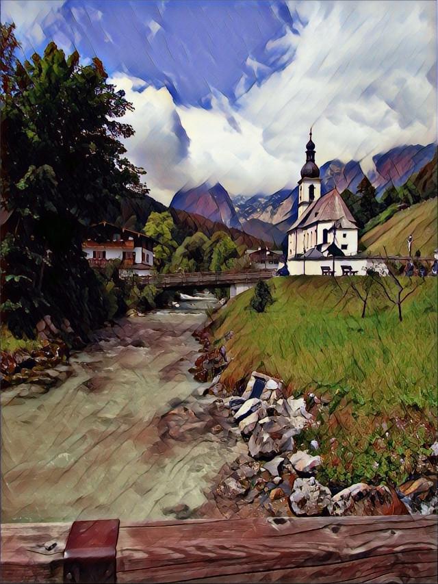 #FreeToEdit #Germany #Bavaria #alps #Ramsau #roadtrip #summer2016