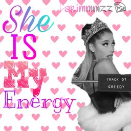 arianagrande energy she mmzz love freetoedit