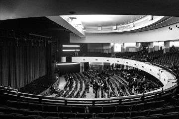 rome city theater blackandwhite roma