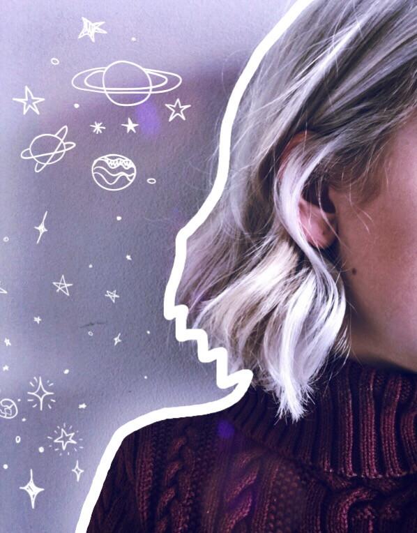 #spacecase #galaxies #madewithpicsart #girl #portrait #edit #FreeToEdit