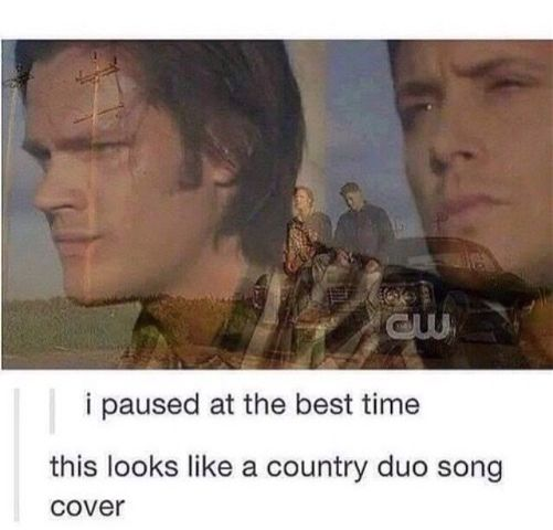 deanwinchester samwinchester supernatural cwshows countryduo freetoedit