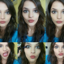 me collage girl cute noedited freetoedit