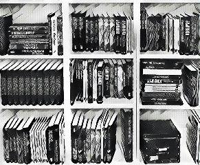 bookshelf ikea books blackandwhite squares