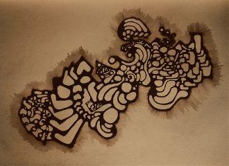 myart doodle darkart drawing watercolor