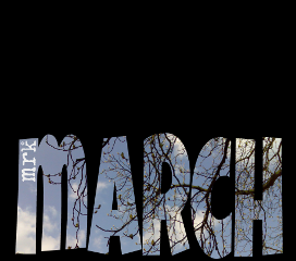 freetoedit spring black march type