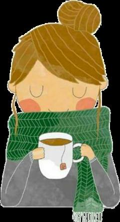 girl tea cold garota chá