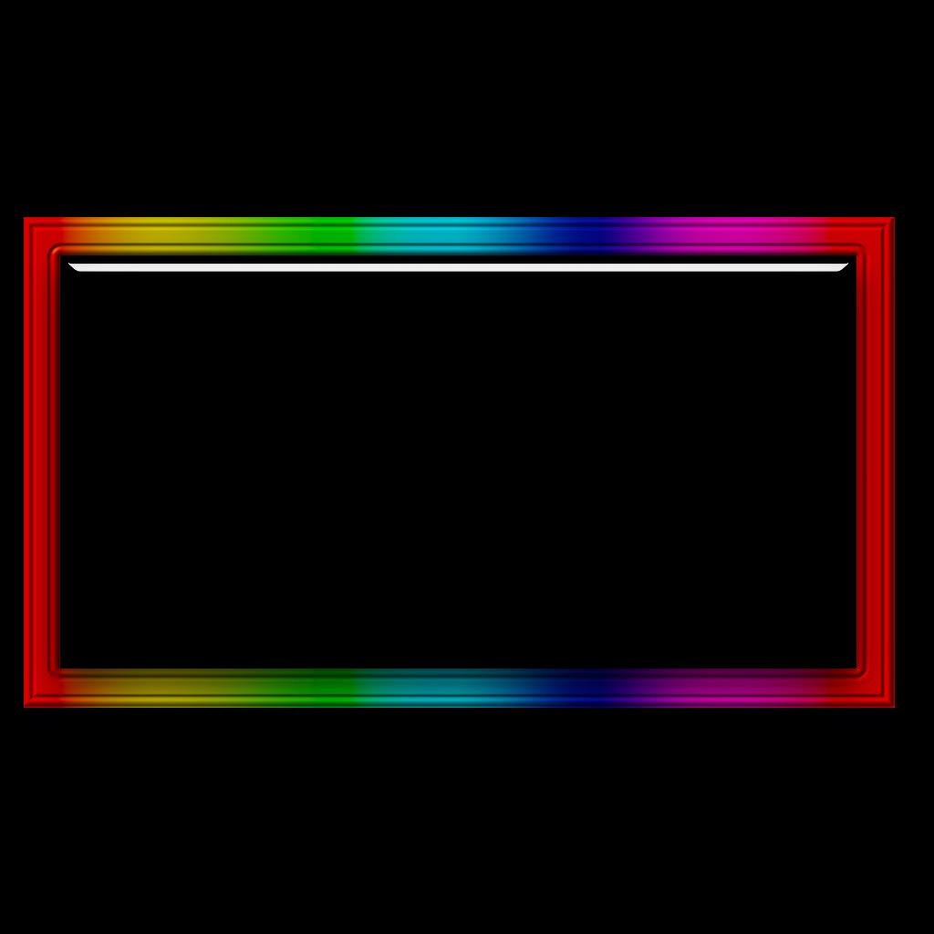 #freetoedit #rainbow #glass #frame