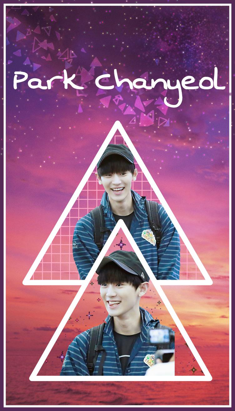 Freetoedit Chanyeol Exo Wallpaper Collage Cute Stars