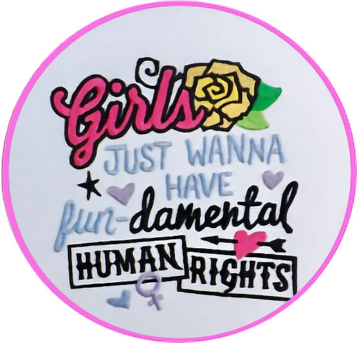 #pink #pinkout #feminism #embroidery #womensrights