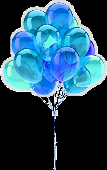 #balloon #blue #balloons#FreeToEdit
