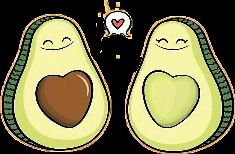 #avocado #half #love #smile #Heart #cute  #emotions #freetoedit #vegetable_art  #green