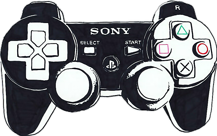 #black #playstation #controller #plaustationcontroller #videogames #gamer
