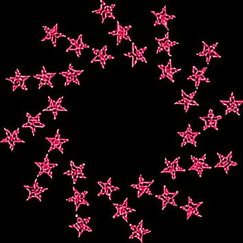 #pink #stars #frame #overlay #freetoedit