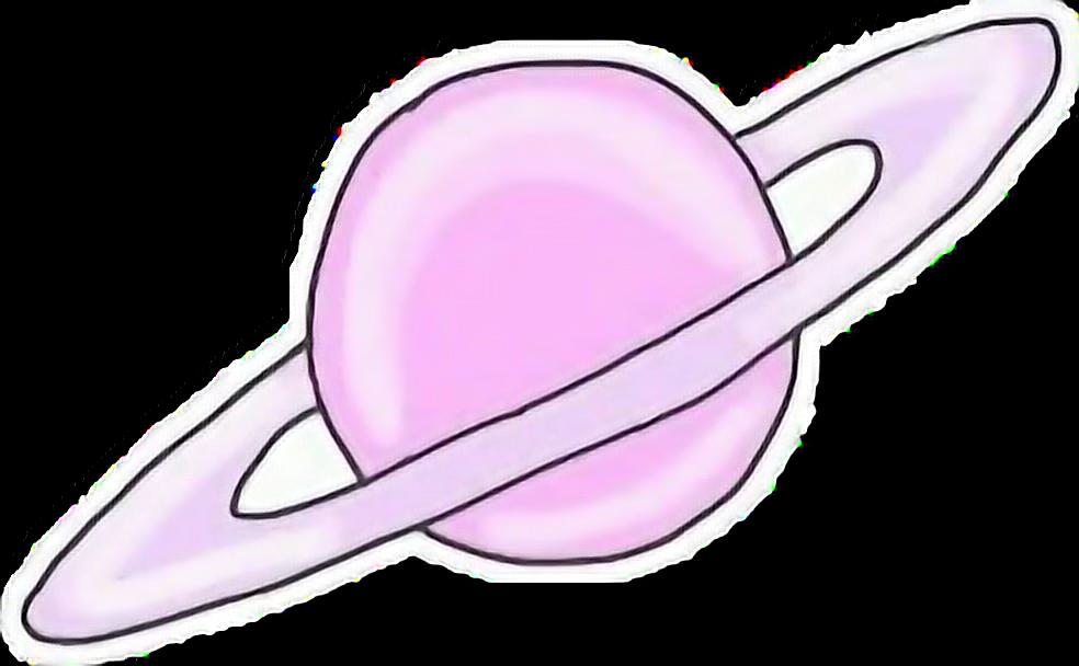 pink#planet#freetoedit