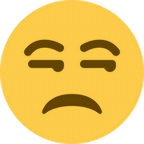Angry Pissed Annoyed Unhappy Upset Emoji Emoticon Face