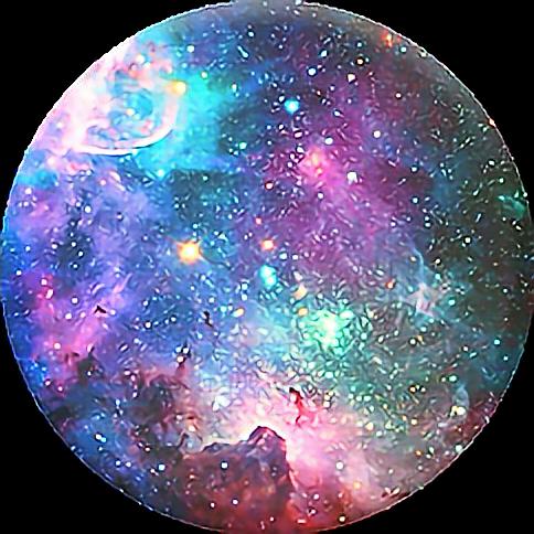 galaxy blue purple pink green yellow