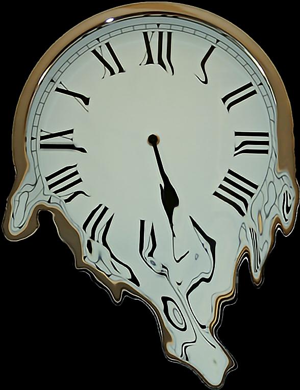 #ftestickers #clock #meltingclock