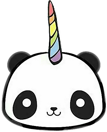 pandacorn pandacornio panda kawaii free clipart summer rain free clip art summer vacation