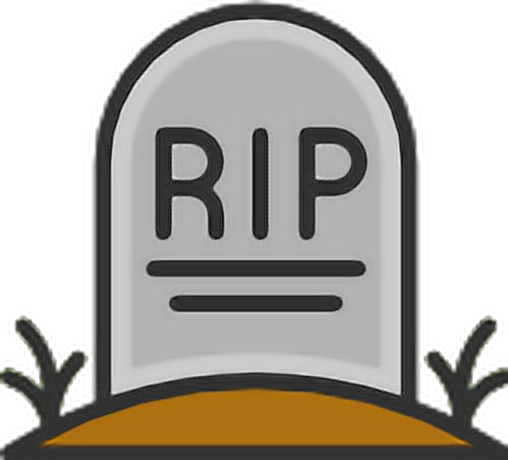 Well-known emoji halloween tombstone rip - Sticker by DBo$$ NE49