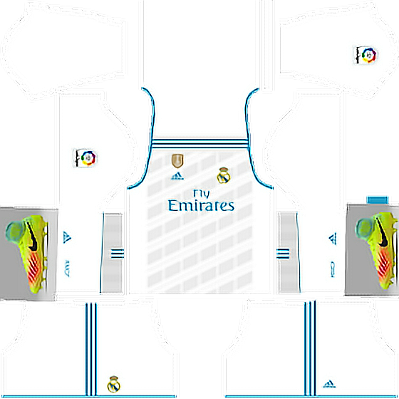 #kits real madrid 2017