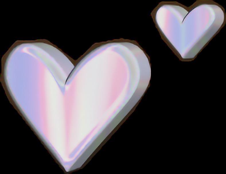 #heart #holographic #aesthetic#freetoedit